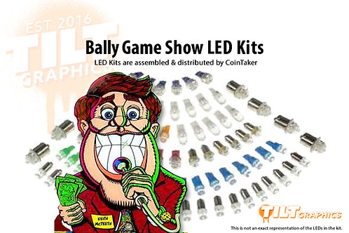 The Bally Game Show LED Kits