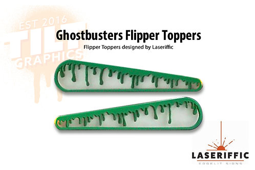 Ghostbusters Slime Flipper Toppers