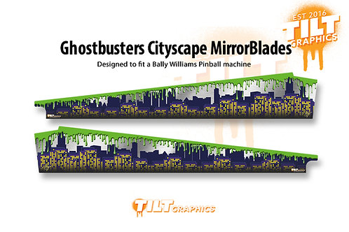 Ghostbusters Cityscape MirrorBlades