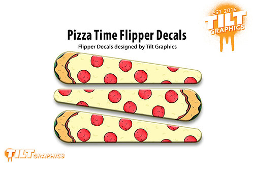 Teenage Mutant Ninja Turtles: Pizza Time Flipper Decals