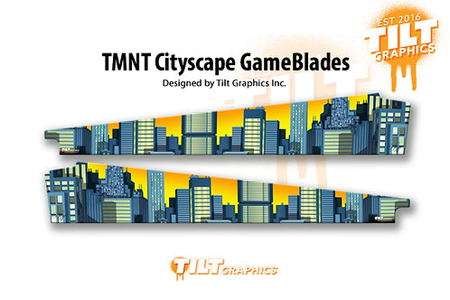 TMNT - Cityscape GameBlades™ - Stern