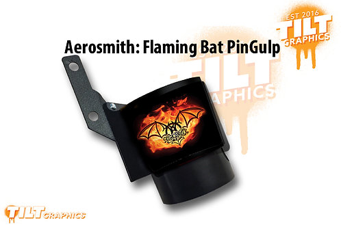 Aerosmith: Flaming Bat PinGulp Beverage Caddy