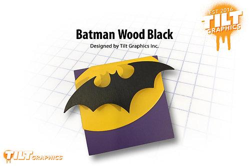 Bat Signal Wood Block