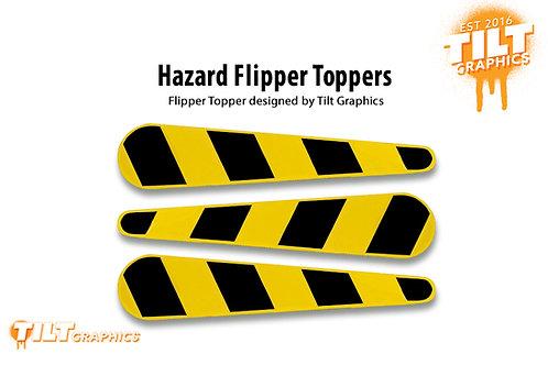 Jurassic Park (Stern) Hazard Flipper Toppers