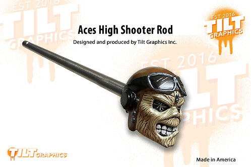 Iron Maiden: Aces High Inspired Shooter Rod