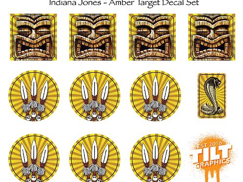 Indiana Jones: Amber Target Decals