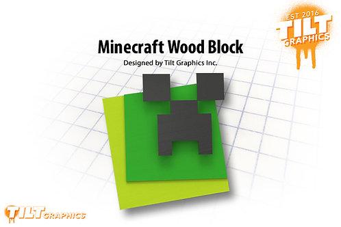 Minecraft Wood Block