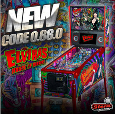 CODE UPDATE : STERN'S ELVIRA'S HOUSE OF HORRORS: VERSION 0.88.0