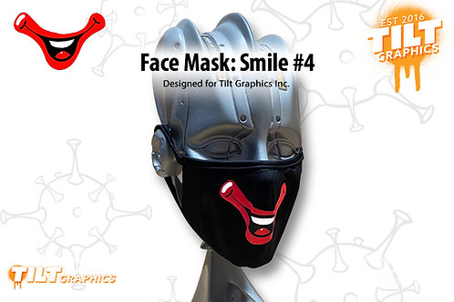 Face Mask: Circus Smile 4