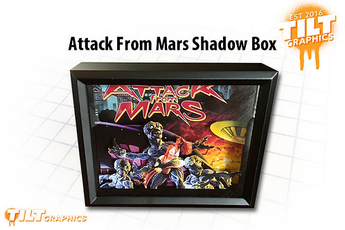 Attack from Mars Shadow Box