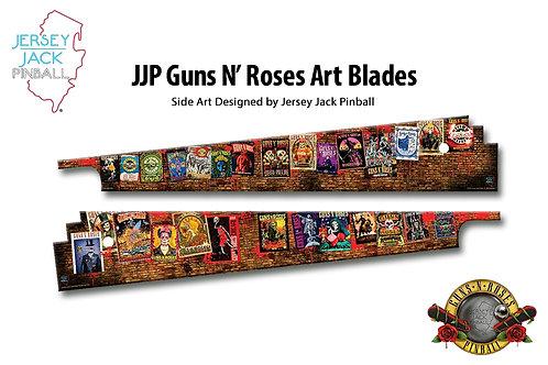 Jersey Jack Pinball Guns N' Roses Side Art