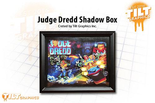 Judge Dredd Shadow Box