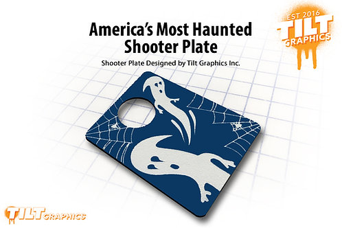 America's Most Haunted Shooter Plate