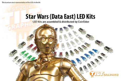 Star Wars (Data East) LED Kits