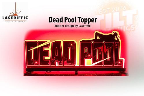 Deadpool Etch & Graphics Pinball Topper