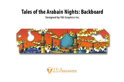 Tales of the Arabian Nights: Backboard