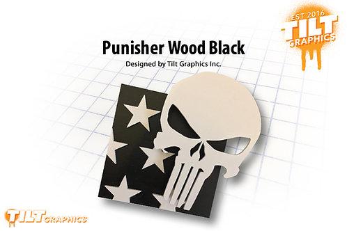 Punisher Wood Block