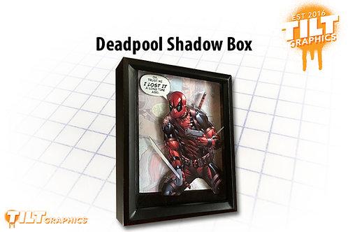 Deadpool Shadow Box