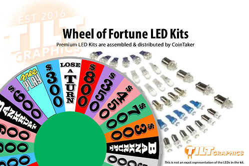 Wheel of Fortune LED Kits