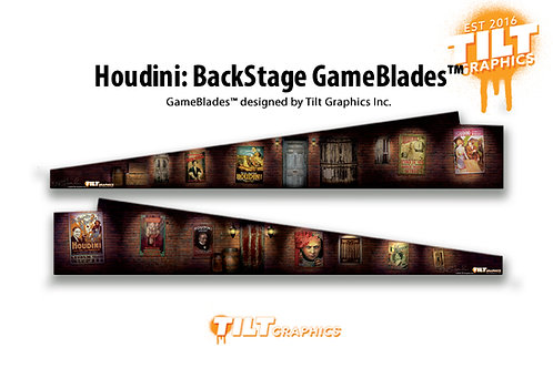 Houdini: Back Stage GameBlades™
