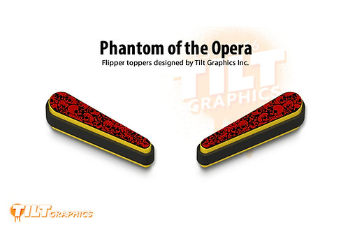 Phantom of the Opera Flipper Toppers
