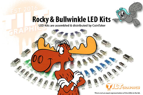 Rocky And Bullwinkle LED Kits