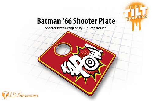 Batman '66 Kapow Shooter Plate