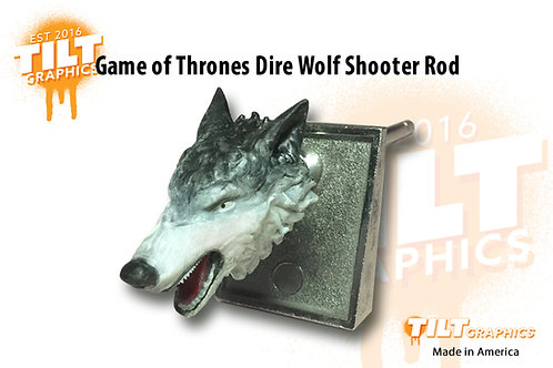 Game of Thrones Dire Wolf Shooter Rod