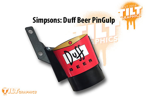 Simpsons Duff PinGulp Beverage Caddy