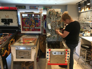 I Ain't Seen Nothing Like Her: Meet N.H.'s Pinball Wizard Mechanic