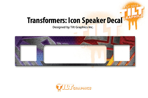 Transformers Speaker Grill Decal