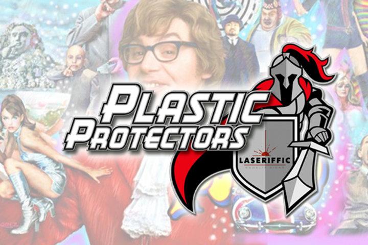 Austin Powers Plastic Protector Set