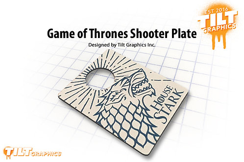 Game of Thrones: Stark Shooter Plate