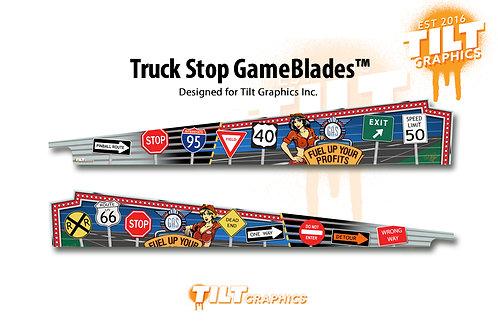 Truck Stop GameBlades™ - Stern