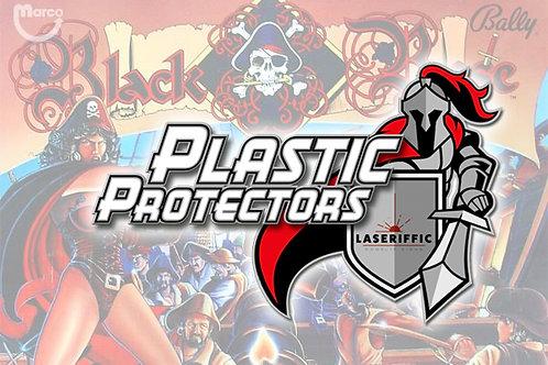 Black Rose Plastic Protectors