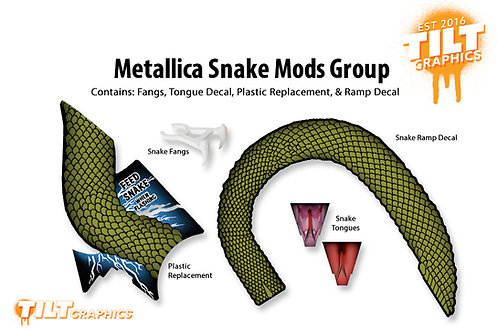 Metallica Snake Mods Group