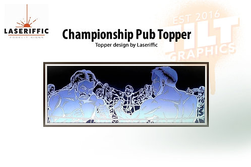 Championship Pub Pinball Topper - Made in the USA