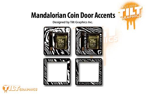 Beskar Coin Door Accents