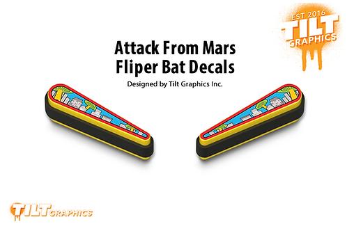 Attack From Mars Flipper Bat Decals
