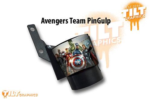 "Avengers ""Team Lineup"" PinGulp Beverage Caddy"