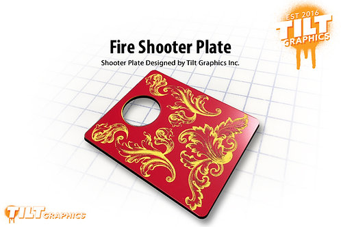 Fire Shooter Plate