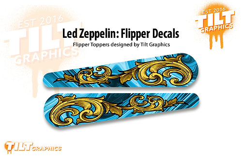 Led Zeppelin: Filigree Flipper Decals