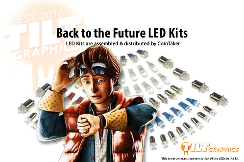 Back To The Future LED Kits
