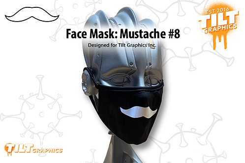 Face Mask: Mustache 8