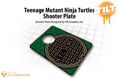 NYC Sewer Cover Shooter Plate