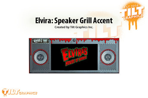 Elvira: Stern Speaker Panel Accent