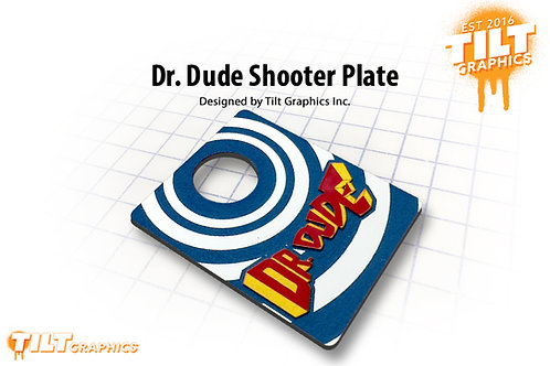 Dr. Dude 3D Shooter Plate