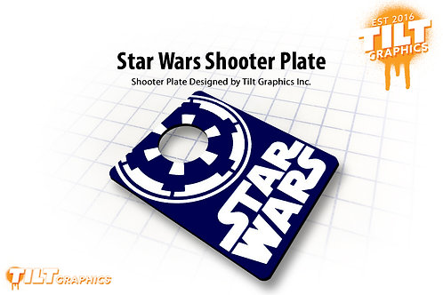Star Wars Shooter Plate