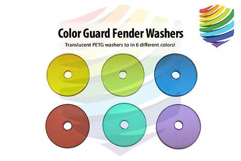 PETG Fender Washers: 3/4 Inch