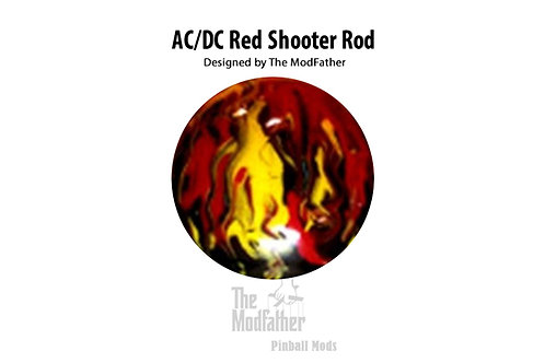 AC/DC Red Custom Shooter Rod